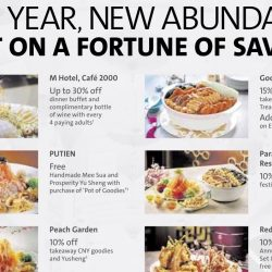 OCBC Cards: Up to 30% Savings on Your CNY Dining!