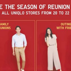 Uniqlo: CNY Promotions In All Stores This Weekend!