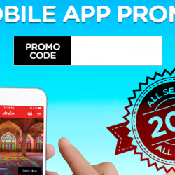 AirAsia: 3-Day Exclusive Mobile App Promo - Get 20% OFF All Flights!