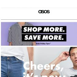 [ASOS] Want $30 off $150? It's time to spend and save