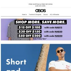 [ASOS] Spend $, save $… ending soon!