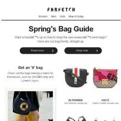 [Farfetch] Bags | The trends you need to know