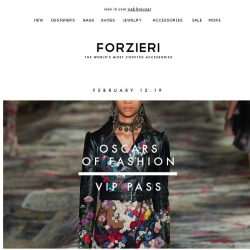 [Forzieri] 2 Days Left | Your VIP Pass to Oscars Fashion Week
