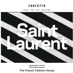 [Farfetch] The one and only | Saint Laurent