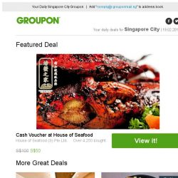 [Groupon] House of Seafood Cash Voucher / 3 Outlets: Gelish Mani-Pedi at Pixie Nail Spa