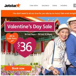 [Jetstar] 💘 We'll wait for another 15 hours... just because we love you!