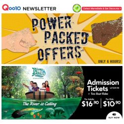 [Qoo10] River Safari - Lowest Price EVER!!! Segway 9bot Mini $1!!! FIND OUT MORE>>>>>
