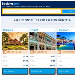 [Booking.com] Bangkok, Phuket and Singapore -- great last-minute deals as low as S$ 13!
