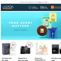 [Lazada] YOUR SCENT MATTERS
