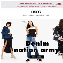 [ASOS] Denim, you have our full attention