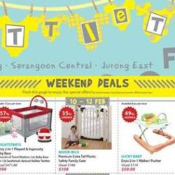 Isetan: Little Tots Fair with 30% OFF Philips Avent Products & Many Other Special Weekend Deals!