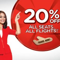 AirAsia: 20% OFF All Seats, All Flights!