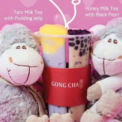 Gong Cha: Celebrate Valentine's Day with Forever Love Ban Ban Cup!