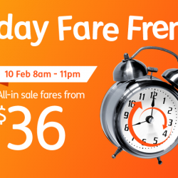 Jetstar: Friday Fare Frenzy to Kuala Lumpur, Hong Kong, Phuket, Taipei & more from $36 One-Way All in!