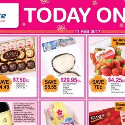 NTUC FairPrice: Special ONE-DAY Only Deals on 100PLUS, Facial Tissues, Korean Strawberries & More!