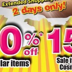 BHG: Crazy Bazaar with 30% OFF Regular Items & 15% OFF Sale/Cosmetics Items