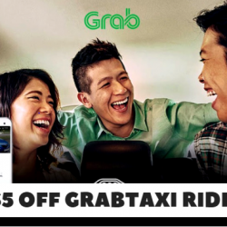 Grab: Coupon Code for $5 OFF Your GrabTaxi Ride