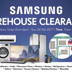Samsung: Warehouse Clearance at Courts Megastore