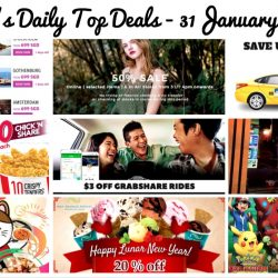 BQ's Daily Top Deals: Save up to $3.90 on your taxi fare, Fly to Europe from $699, Sing for 6 hours at $10, 50% OFF at Osmose & More!