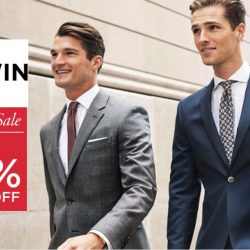 T. M. Lewin: End of Season Sale Up to 60% OFF Suits, Shirts, Ties and Cufflinks