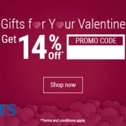 Courts: Gift ideas FOR HIM & FOR HER + 14% OFF with Promo Code