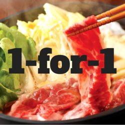 SUKI-YA: 1-for-1 Shabu-Shabu Buffet with OCBC Credit/Debit Cards