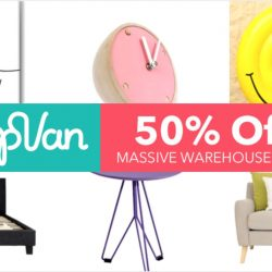 HipVan: Massive Warehouse Sale with Additional 50% OFF Sale Items