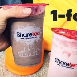 Sharetea: Valentine's Special Deal is Back! Buy 1 Get 1 FREE on 25 Feb 2017!