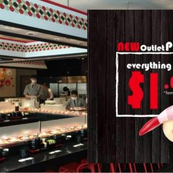 Sushi Express: Opening Promotion at Hillion Mall - Everything at $1++ Per Plate!