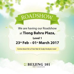 [Beijing 101] Hey Everyone,Our awesome Roadshow team will be in Tiong Bahru Plaza this weekend.
