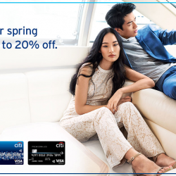 [Citibank ATM] Refresh your wardrobe this Spring with up to 20% off sitewide at ZALORA. Citi Rewards Cardmembers: • Get an extra 20%