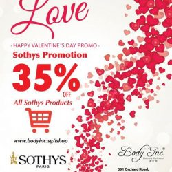 [Body Inc. Integrated Medicine] Fall in Love with our February Promotion! Shop with us at www.bodyinc.sg/ishop #Bodyinc #Valentine #Promotion #February #Sothys #