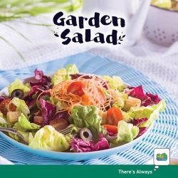 [7-Eleven Singapore] Don't be fooled by our Garden Salad's dairy-free dressing – its tangy flavour packs one hell of a