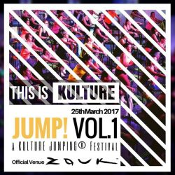 [KULTURE STUDIOS] The first-of-its-kind, club-style Jumping Festival is finally here!Kulture presents// JUMP! Vol. 1 @zouksingapore on 25th