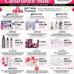 [Beauty By Nature] Beauty by Nature VivoCity's Beauty Bonanza Sale happening from 1 to 11 March up to 80% OFF!