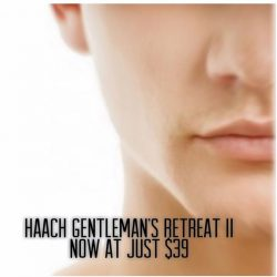 [HAACH] Formulated for the man in you: relax your muscles and fortify your skin with a tailor-made facial today.HAACH