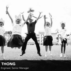[Singtel] Project V, which stands for project volunteering, pays tribute to 12 employees who volunteer their own time and energy to