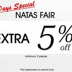 [ColdWear] For all those going to Expo for the NATAS fair. Drop by our Changi City Point outlet! We are offering