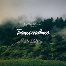 [SISTIC Singapore] Tickets for The Vocal Consort Presents: Transcendence go on sale on 1 Feb 2017. Get your tickets through SISTIC at