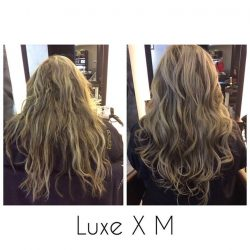 [Luxe X M] Looking for frizz free manageable hair? Try our chemical free Gold Keratin treatment to get this result and last up