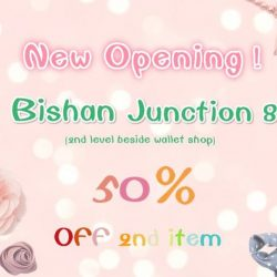 [Surpassing] New Opening ! SALE : 50% OFF 2nd item <3Bishan Junction 8 (2nd Level beside Wallet shop)