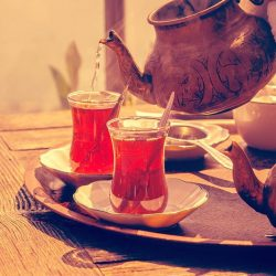 [Singapore Airlines] Turkish tea or 'cay' is a way of life for the locals and a token of hospitality offered to  visitors.