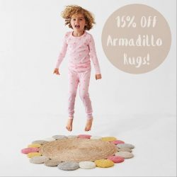[CUCKOO] Woohoo! 15% off all Armadillo rugs, in-store or online now.  Just click here at https://cuckoolittlelifestyle.com/collections/rugs