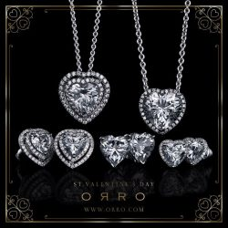 [ORRO Jewellery] Last minute Valentine's Day Gifts?ORRO welcomes this Valentine's Celebration with Love & Passion. Each piece from our collection