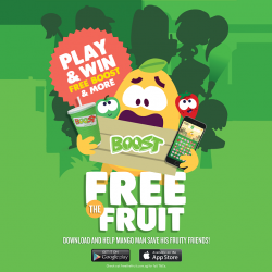 [Boost Juice Bars Singapore] Intro-juicing the fruitiest game to hit your phones!