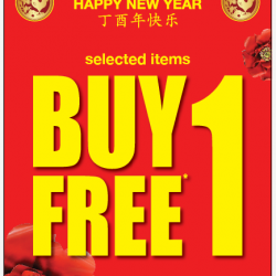 [GIORDANO Singapore] Hang in there, it's almost Friday! More items been added to our Buy 1 Get 1 Free promotion! Happening