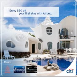 [Citibank ATM] Exclusive S$50 off new user bookings at Airbnb.Choose from unique accommodations from around the world and get the