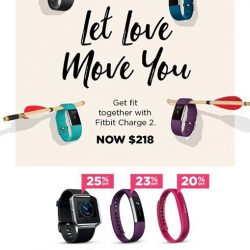 [Nübox] Make your move and get fit together with Fitbit Charge 2, get it now in store only at $218! (U.