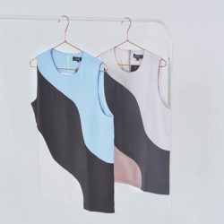 [MDSCollections] Alessia Top in Blue and Grey   Now at $9.90 on mdscollections.comMore sale items have been added, exclusively