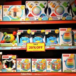 [Hamleys of London] Fisher-Price toys are exciting and educational! Launch your little ones into a world of creative play with cognitive developmental
